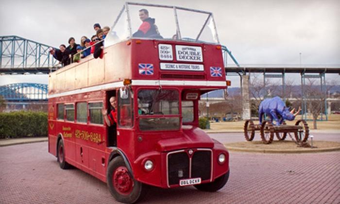Nashville Double Decker - Bridgestone Arena: BYOB Holiday-Themed Bus Tour for Two, Four, or Six from Nashville Double Decker (Up to 51% Off)