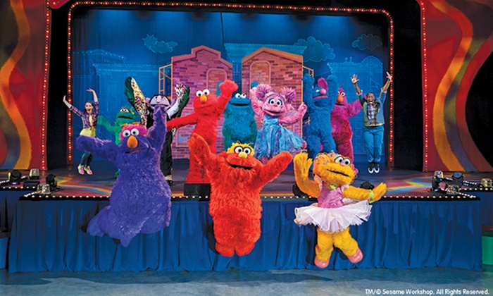 """""""Sesame Street Live: Let's Dance!"""" - Sony Centre For The Performing Arts: Sesame Street Live """"Let's Dance!"""" on November 15 or 16 at 10:30 a.m. or 2 p.m. (Up to 43% Off)"""