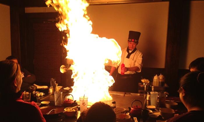 Osaka Japanese Steakhouse - Appleton: $12 for $24 Worth of Japanese Cuisine at Osaka Japanese Steakhouse