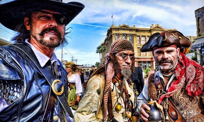 Pirates! Legends of the Gulf Coast - Downtown Galveston: Visit for Two, Four, or Six, or a Birthday Party for Up to 10 Kids at Pirates! Legends of the Gulf Coast (Up to 58% Off)