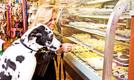 Regular or Wheat-Free Fresh Baked Dog Treats at Three Dog Bakery (50% Off)