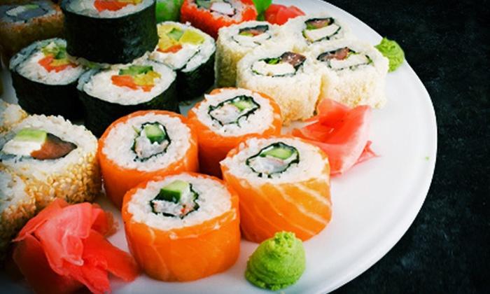 Osaka Sushi & Hibachi - Robbinsdale - Crystal - New Hope: $30 for Two Groupons, Each Good for $30 Worth of Japanese Cuisine at Osaka Sushi & Hibachi ($60 Total Value)