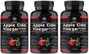 Up To 77 Off On Apple Cider Vinegar Supplement Groupon Goods