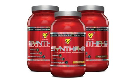 BSN Syntha-6 Ultra Premium Lean Muscle Protein Powder (2.91lb)