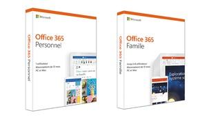Office 365 personnel et famille