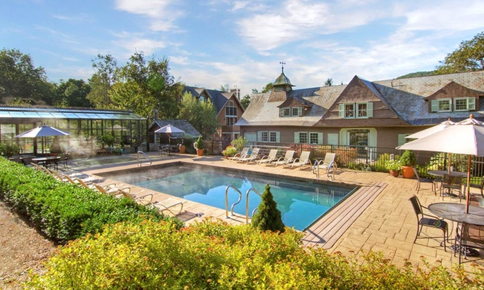 Castle Hill Resort and Spa - Cavendish, Vermont: 1- or 2-Night Stay for Two at Castle Hill Resort and Spa in Ludlow, VT. Check in Sunday–Thursday.
