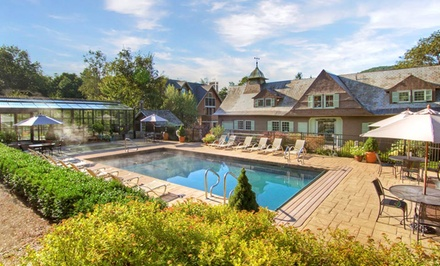 Groupon Deal: 1- or 2-Night Stay for Two at Castle Hill Resort and Spa in Ludlow, VT. Check in Sunday–Thursday.