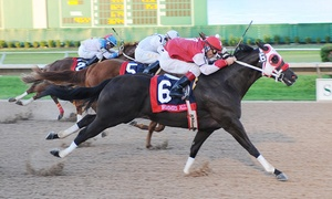 Sam Houston Race Park: Live Horse Racing for Two at Sam Houston Race Park Between Now and February 27
