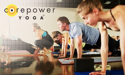 $69 for One Month of Unlimited Yoga Classes at CorePower Yoga ($144 Value)