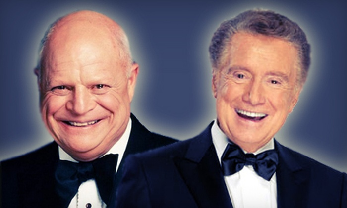 Peter & Paul or Don Rickles And Regis Philbin - NYCB Theatre At Westbury: Peter and Paul or Don Rickles and Regis Philbin at NYCB Theatre at Westbury on June 14 or 22 (Up to 53% Off)