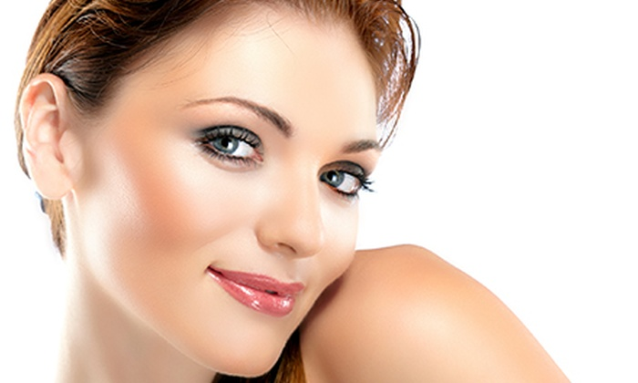 the new look 4 u - Marina District: Permanent Makeup for Eyelids or Eyebrows at The New Look For You (Up to 70% Off)