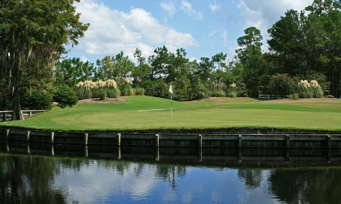 Legends Oak Golf Club - Branch Creek: 2014 VIP Golf Membership with a Round and Hat or Two Rounds and a Lesson at Legend Oaks Golf Club (Up to 53% Off)