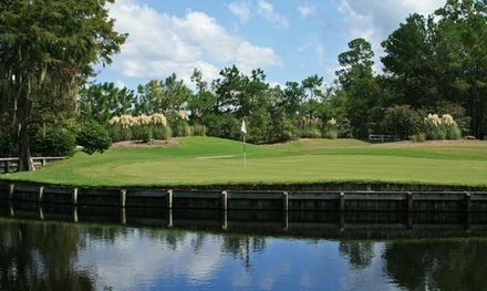 2014 VIP Golf Membership with a Round and Hat or Two Rounds and a Lesson at Legend Oaks Golf Club (Up to 53% Off)