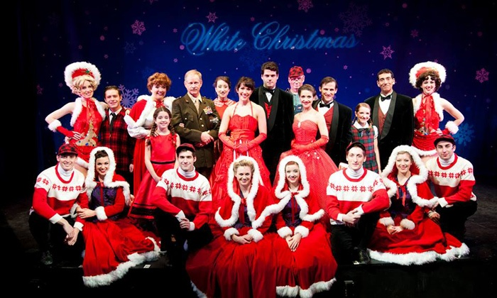 """Irving Berlin's White Christmas"" - Central Jersey: Irving Berlin's ""White Christmas"" at Surflight Theatre on December 10–22 (Up to 47% Off)"