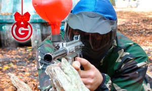 Combat Paintball LTD: Combat Paintball With Lunch For Four (£6) or Ten (£14) (Up to 86% Off)