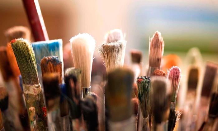 Hook Gallery & Framing - Kansas City: BYOB Painting Class for One or Two at Hook Gallery & Framing (Up to 51% Off)