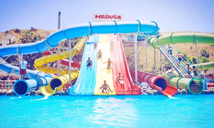 Turista Libre - Border: Tijuana Water-Park Trip or Taco Tour for Two or Four from Turista Libre (Up to 52% Off)