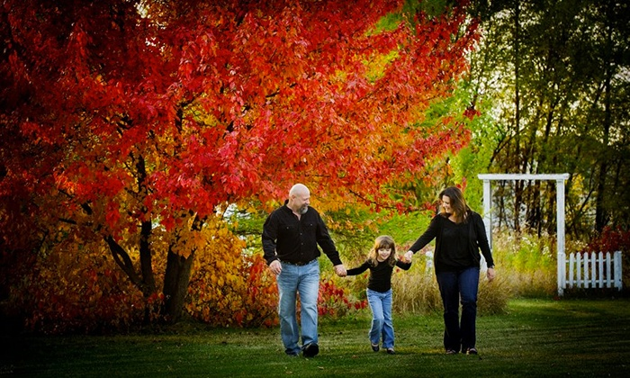 Impact Photographic Design - Munroe East: $49 for a One-Hour Family Photo Shoot with Framed Portrait ($400 Value)