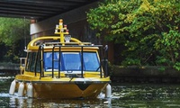 Water Taxi Return Ticket for Up to Two Adults or a Family of Four with Waxi (Up to 43% Off)
