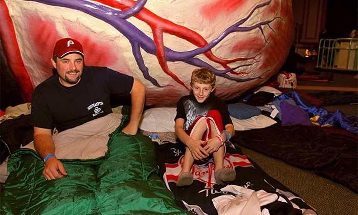 The Franklin Institute - The Franklin Institute: Camp-In for Two or Four at The Franklin Institute on Friday, April 4 (Up to 49% Off)