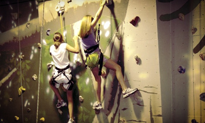 Mountain Fun - Wallingford Center: One-Hour Try a Climb Session Tuesday–Thursday or Friday–Sunday for One or Two at Mountain Fun (Up to 53% Off)