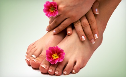 $20 for One Mani-Pedi at Precis Salon (Up to $40 Value)