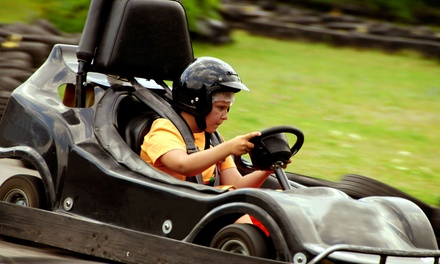 Four Same-Day Go-Kart Races for One, Two, or Four at Xtreme Fun Spot (50% Off)
