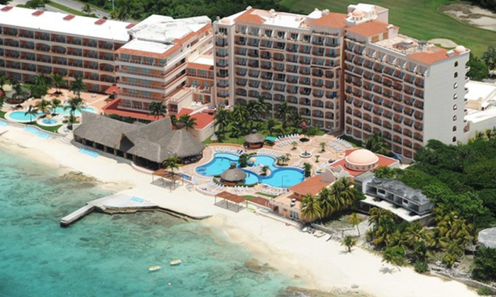 El Cozumeleno Beach Resort Stay from Vacation Express - Cozumel: All-Inclusive El Cozumeleno Resort Vacation with Airfare. Price/Person Based on Double Occupancy. Includes Taxes & Fees.