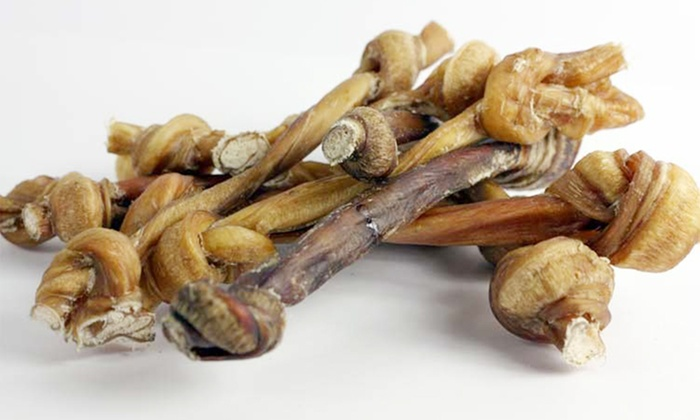 All-Natural Bully Stick Lollipop Dog Treat 10-Pack: All-Natural Bully Stick Lollipop Dog Treat 10-Pack. Two Sizes Available from $24.99–$37.99.