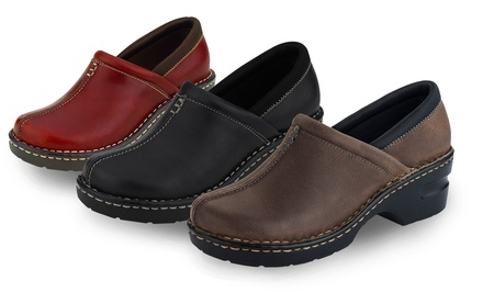 Eastland Kelsey Women's Leather Clogs. Multiple Colors Available. Free Returns.