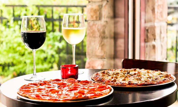 The Cellar Door - Cellar Door: $19 for a Specialty Pizza and Two Glasses of Wine at The Cellar Door (Up to $38 Value)