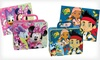 Disney or Hello Kitty Puzzle Tins: $7.99 for a Hello Kitty or Disney Character Puzzle Tin ($19.99 List Price). Four Puzzles Available. Free Returns.