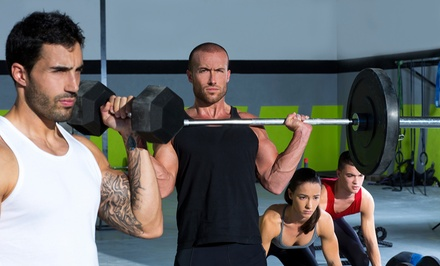 One Month of CrossFit Classes with an Fundamentals Course for One or Two at CrossFit Brownsville (Up to 67% Off)