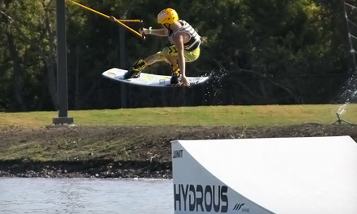 Hydrous Wake Park - Multiple Locations: $60.50 for a Cable-Wakeboarding Package for Two at Hydrous Wake Park (Up to $110 Value)