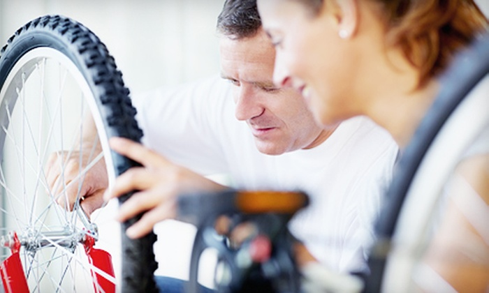 Bicycles of Phoenix - Scottsdale: Basic or Elite Bicycle Tune-Up at Bicycles of Phoenix (Up to 51% Off)