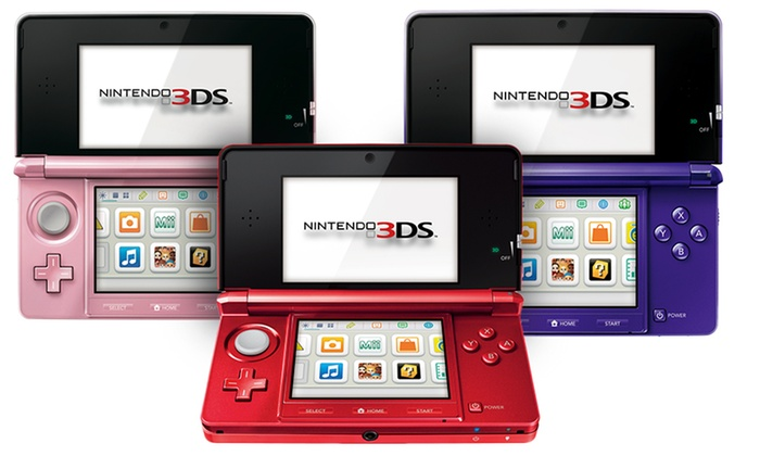 Nintendo 3DS Gaming Console: Nintendo 3DS Gaming Console (Manufacturer Refurbished)