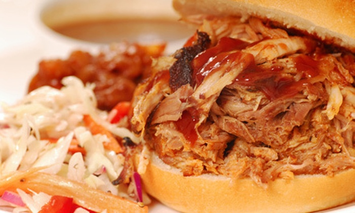 Dat's Good Que - Lewisville: $10 for $20 Worth of Barbecue Fare at Dat's Good Que in Lewisville