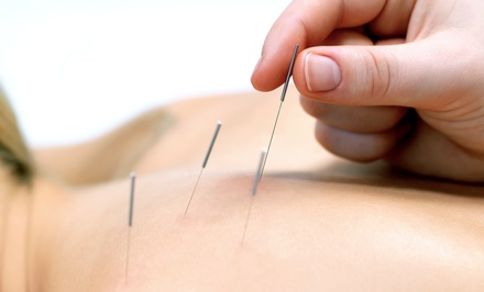One or Three Acupuncture Sessions with Area Massage at Graceful Services (Up to 56% Off)