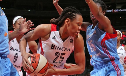 Washington Mystics WNBA Game at the Verizon Center on August 13 or 16 (Up to 76% Off). Multiple Seating Options.
