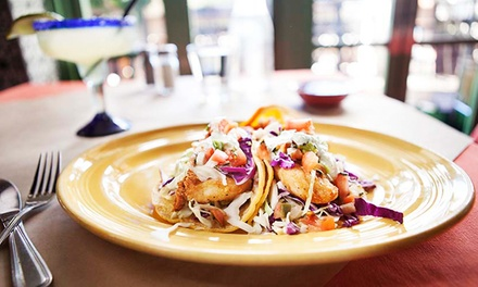 Mexican Food and Drinks for Two or Four at Casa Blanca Restaurant & Cantina (40% Off)