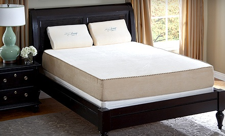 Memory-Foam Mattresses with Shipping Included from Naturea€™s Sleep (Up to 70% Off). Three Options Available.