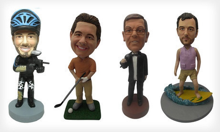 Photomama: $55 for a Custom Bobblehead Package from AllBobbleheads.com with Shipping Included ($130 Total Value)
