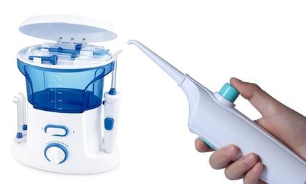 Irrigador dental manual o profesional