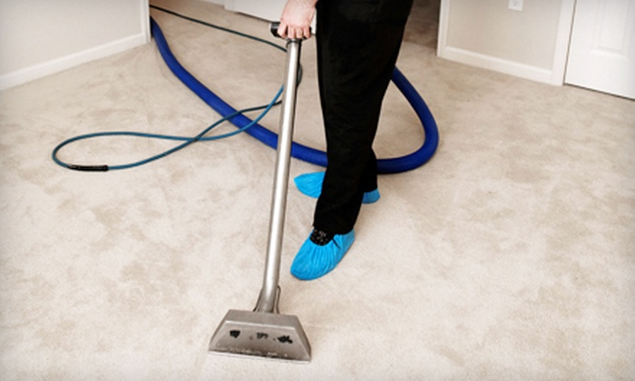Steam It - Austin: Carpet Cleaning for Two Rooms or 3,000 Square-Foot House from Steam It (Up to 58% Off)