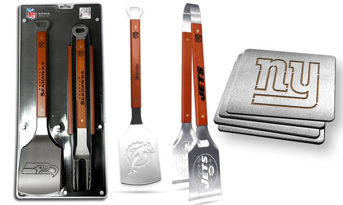 Smart Sales - Wayne: $10 for $20 Worth of NFL-Themed Coasters, Spatulas, and Tongs at Smart Sales