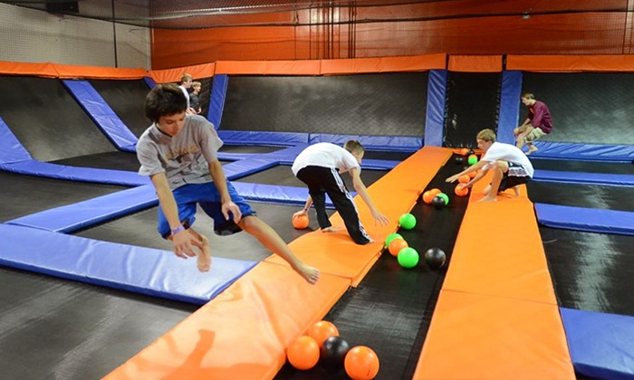 Urban Air Trampoline Park - Austin - Wells Branch: Two Hours of Jumping for One, Two, or Four at Urban Air Trampoline Park (Up to 39% Off)