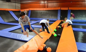 Urban Air Trampoline Park - Austin: Two Hours of Jumping for One, Two, or Four at Urban Air Trampoline Park (Up to 39% Off)