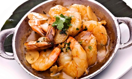 Latin American Fusion at Mambo Restaurante Nuevo Latino (Up to 50% Off)