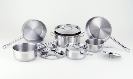 Paderno Stainless Steel Chef 11-Piece Set