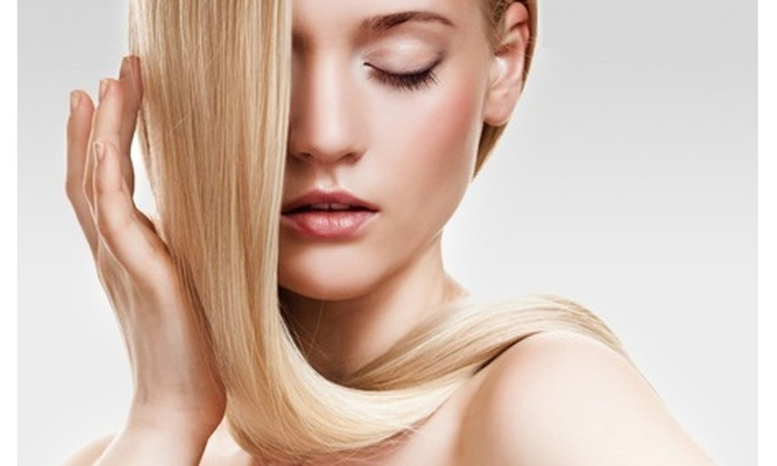 Nadia Beauty Style - Interchange 1: Premium Keratin Hair Straightening & more starting from AED 269 at Nadia Beauty Style